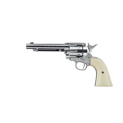 Colt Single Action Army 45, nickel 4,5mm